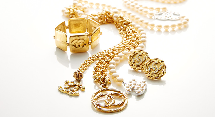 Vintage Chanel Jewelry at Gilt