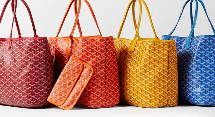 Vintage Goyard Handbags at Gilt
