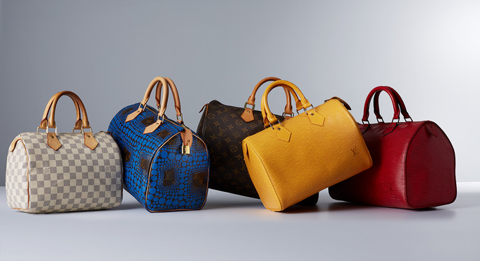 Vintage Louis Vuitton Speedy Handbags at Gilt