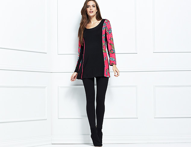 Wear Together: Bold Tunics & Leggings at MYHABIT