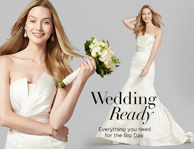 Wedding Ready: Bridal Gowns & Dresses at MYHABIT