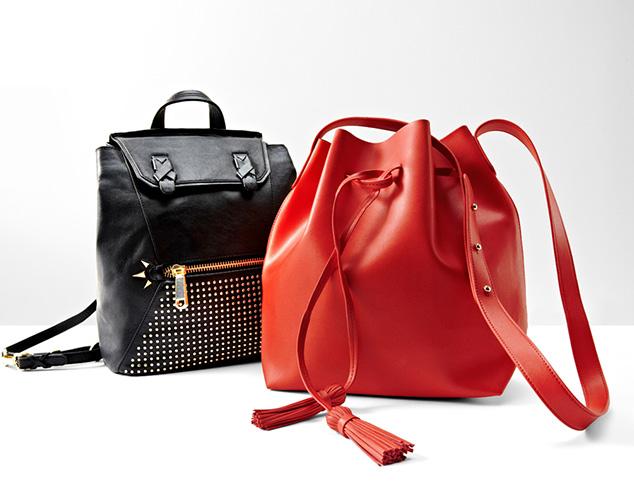 Weekend Casual: Bucket Bags & Backpacks at MYHABIT