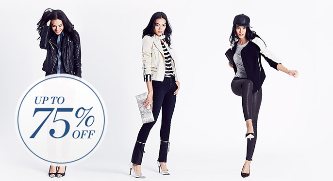 Weekend Wardrobe Staples: Up to 75% Off at Gilt