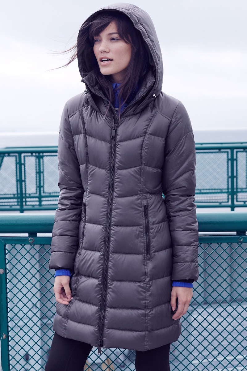 Zella Snow Drift Quilted Down Parka
