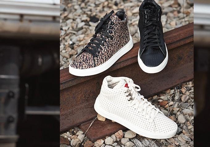 rag & bone Kent Perforated High Top Sneaker