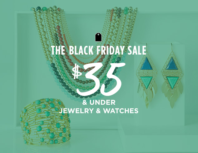 $35 & Under: Jewelry & Watches at MYHABIT
