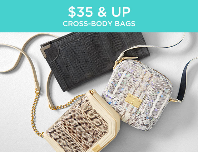 $35 & Up: Cross-body Bags at MYHABIT