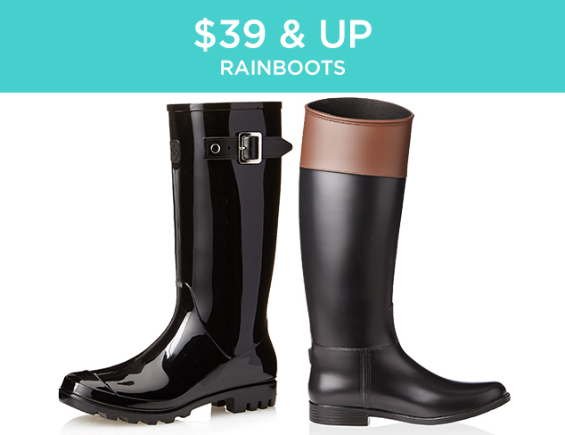 $39 & Up: Rainboots at MYHABIT