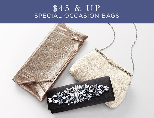 $45 & Up: Special Occasion Bags at MYHABIT