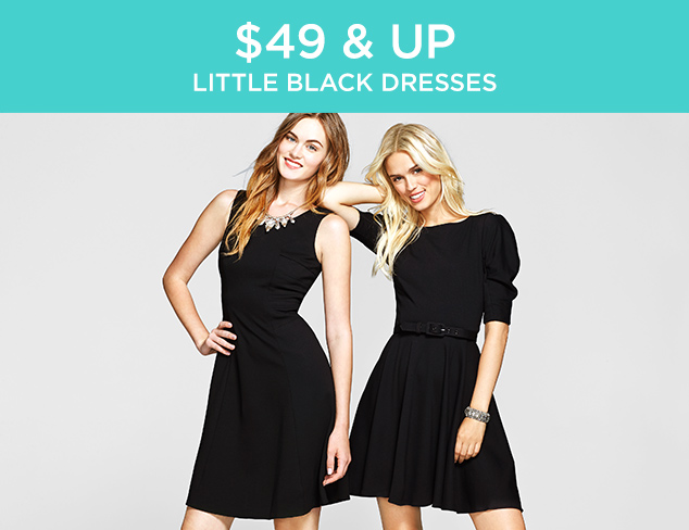 $49 & Up: Little Black Dresses at MYHABIT