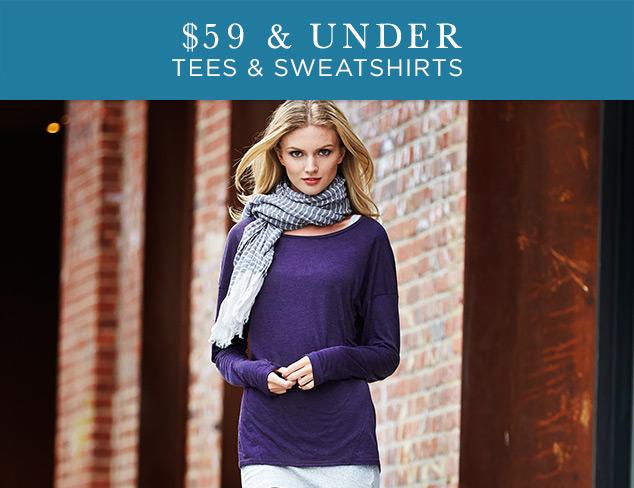 $59 & Under: Tees & Sweatshirts at MYHABIT