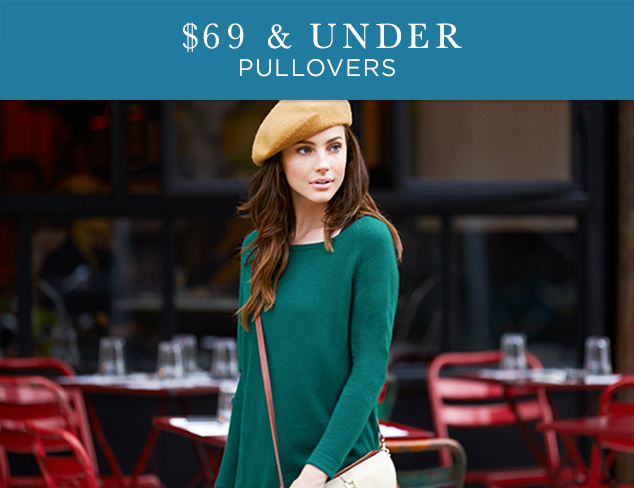 $69 & Under: Pullovers at MYHABIT