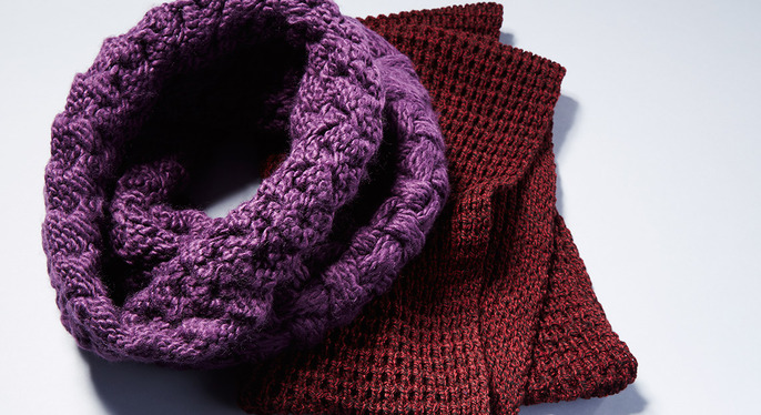 Accessories Fix: Chunky Knits at Gilt