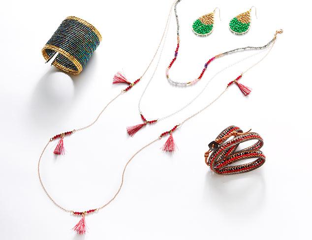 Beaded Jewelry by Nakamol at MYHABIT