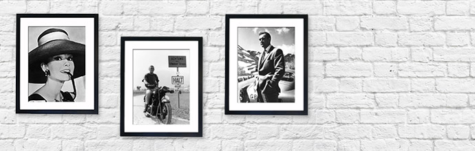 Black and White Icons Wall Art at Brandalley