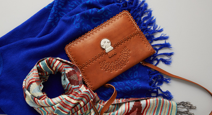 Boho-Chic Accessories at Gilt