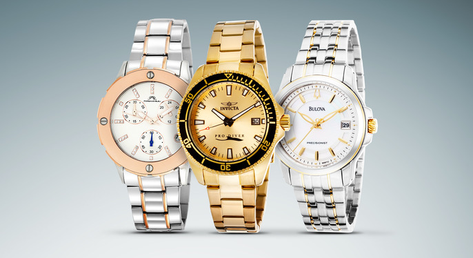 Bracelet Watches Feat. Invicta at Gilt