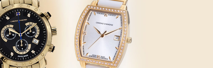 Chrono Diamond Watches at Brandalley