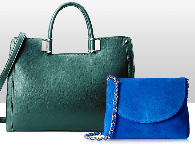 Cool Hues: Handbags & Accessories at MYHABIT