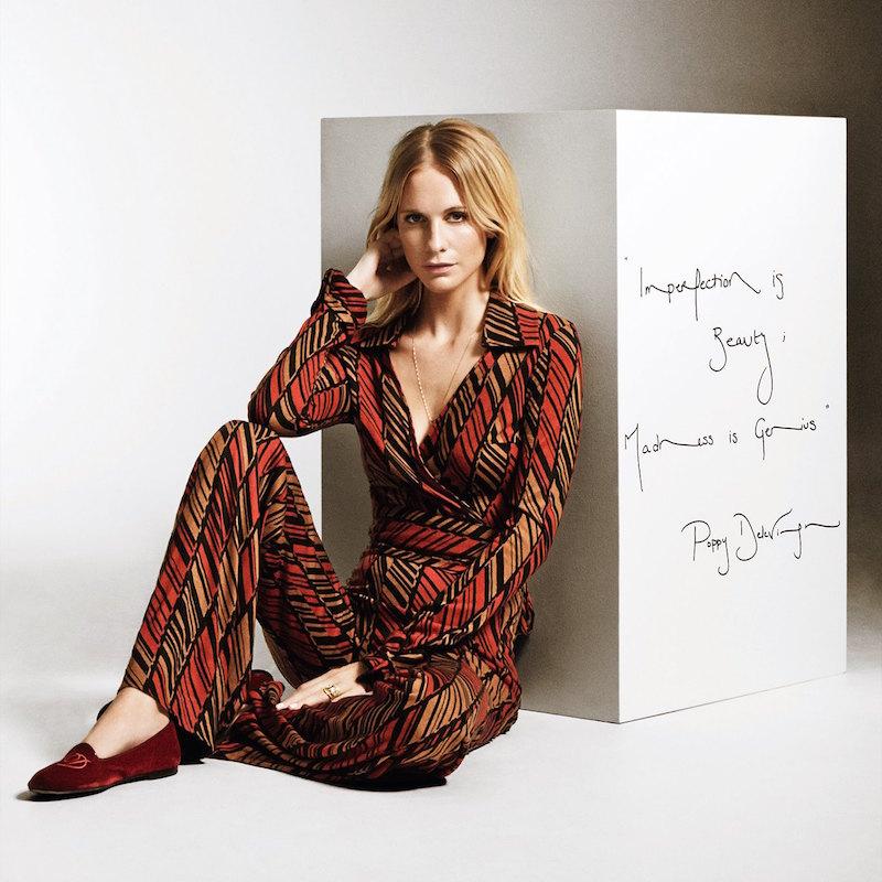 Diane von Furstenberg Vintage Wrap Top and Trousers