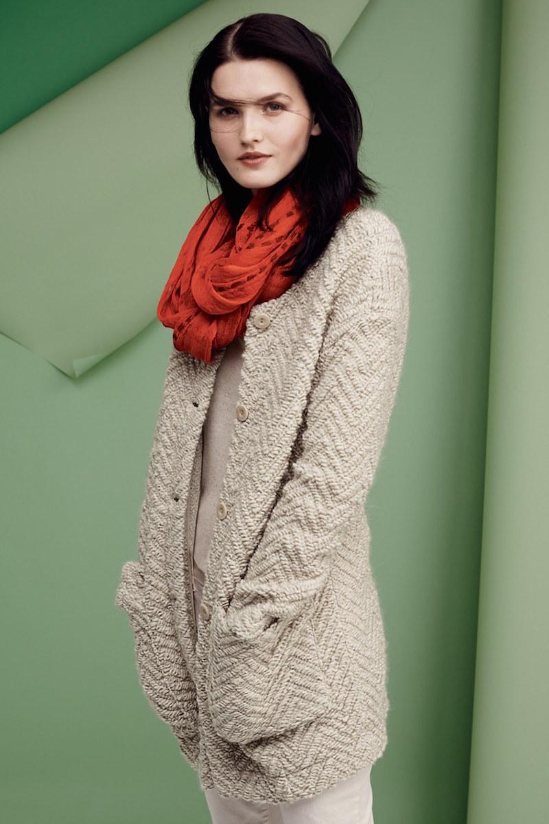 Eileen Fisher Wool Blend Sweater Jacket