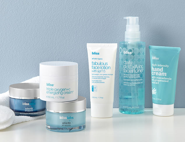 Face & Body Care feat. bliss at MYHABIT