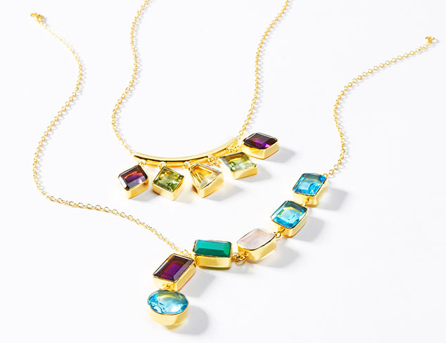 Gemstone Jewelry by Saachi at MYHABIT