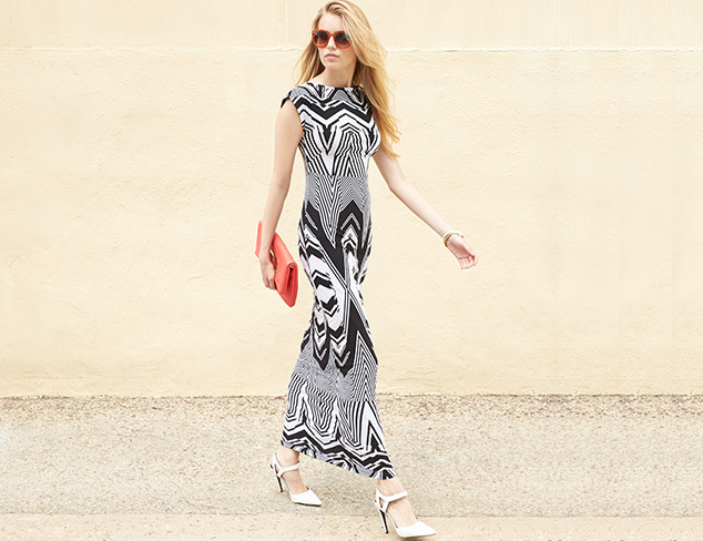 Go Graphic: Black & White Dresses & Separates at MYHABIT