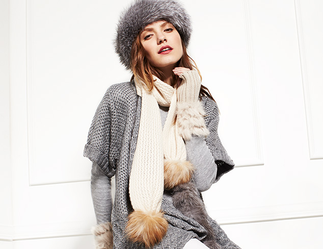 Investment Pieces: Fur Accessories at MYHABIT