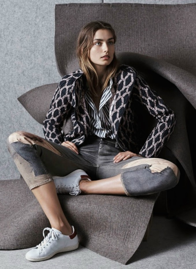 Isabel Marant Print Quilted Olaz Jacket