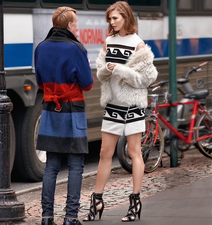 Isabel Marant Sandy Surround Knit Mini Dress