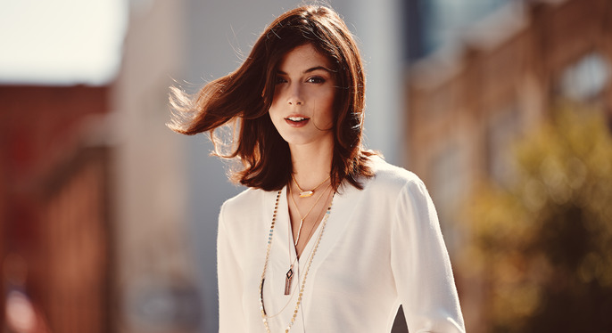 Lessons in Layering: Delicate Necklaces at Gilt