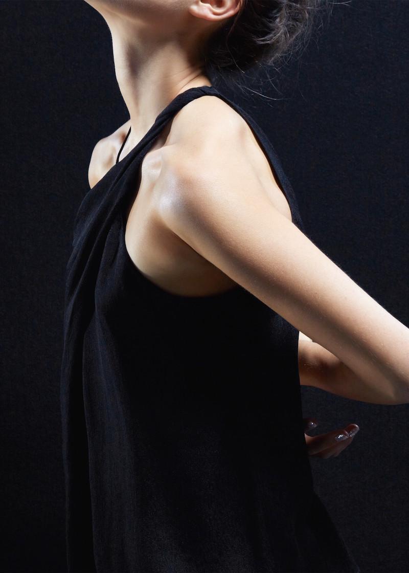 MANGO PREMIUM Asymmetric Strap Top