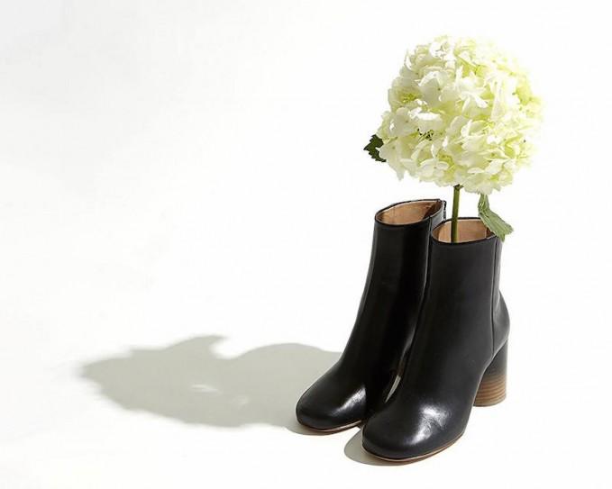 Maison Martin Margiela Tabi Leather Ankle Boots