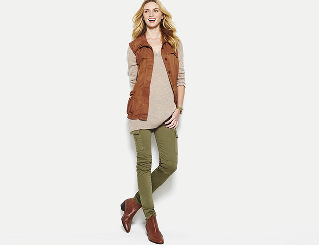 Military-Inspired Hues: Olive, Khaki & More at MYHABIT