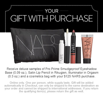 NARS Gift with Purchase