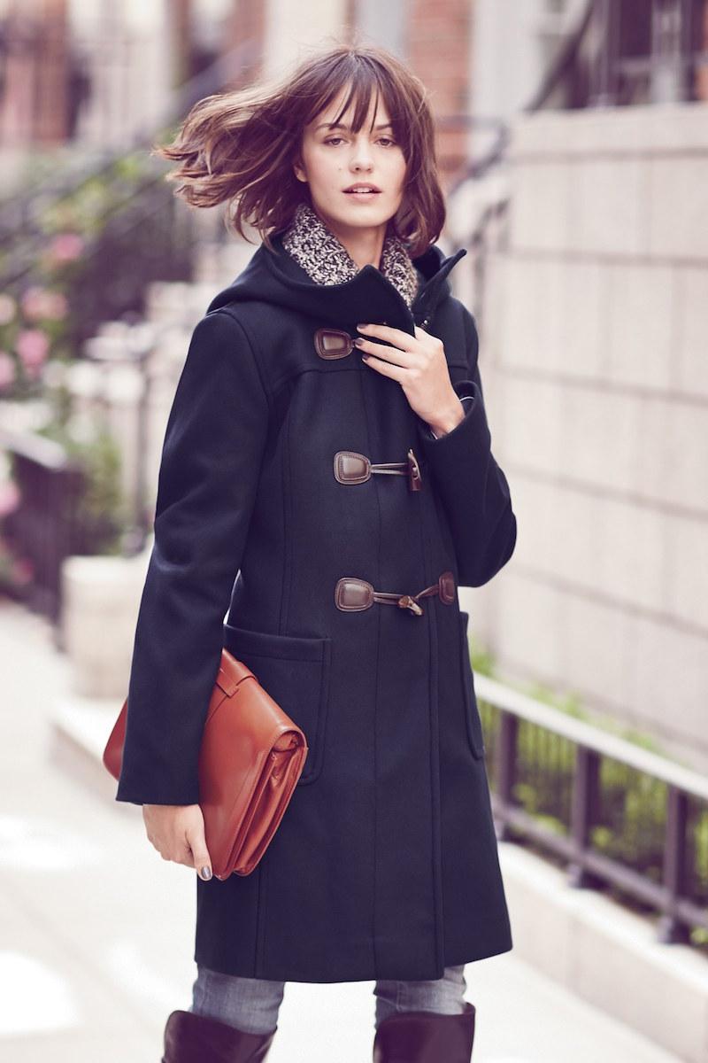 Pendleton Wool Blend Hooded Duffle Coat