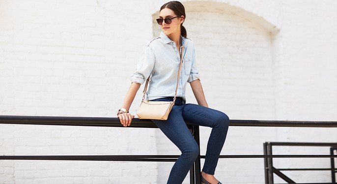 Perfect-Fit Skinny Jeans at Gilt
