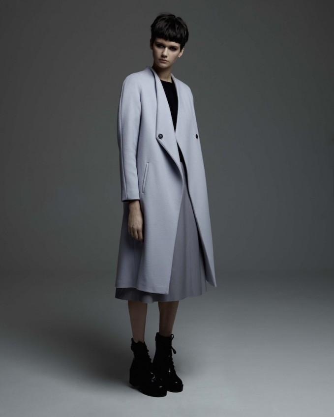Peridot London Heidelberg Tailored Wool Coat