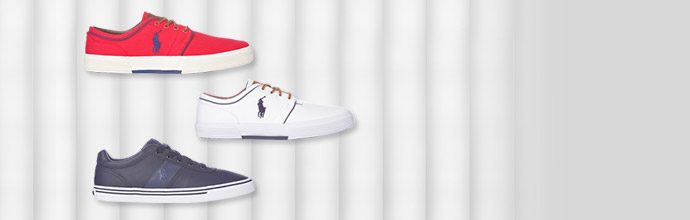 Polo Ralph Lauren Trainers at Brandalley