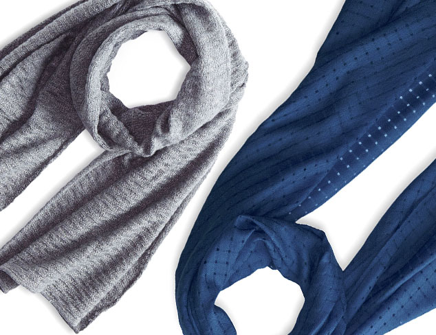 Scarves feat. Forte Cashmere at MYHABIT