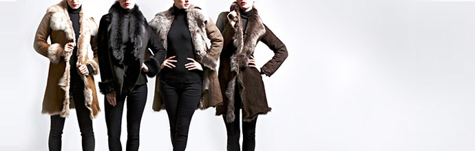 Shearling Outerwear at Brandalley