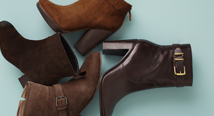 Sole Mates: Fall Booties at Gilt