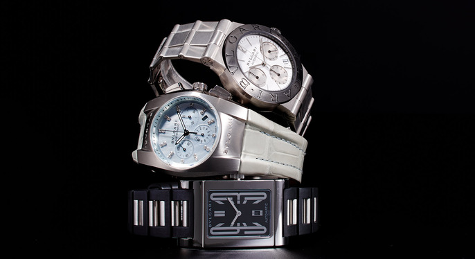 Sophisticated Watches Feat. Bulgari at Gilt