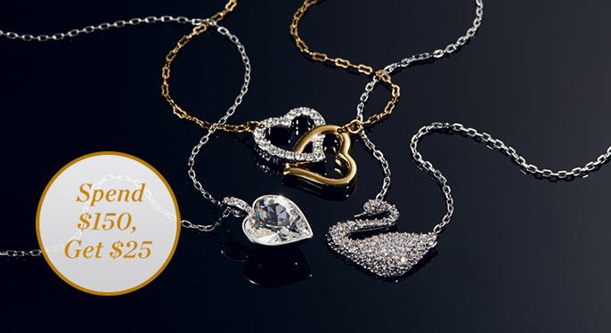 Swarovski Jewelry at Gilt