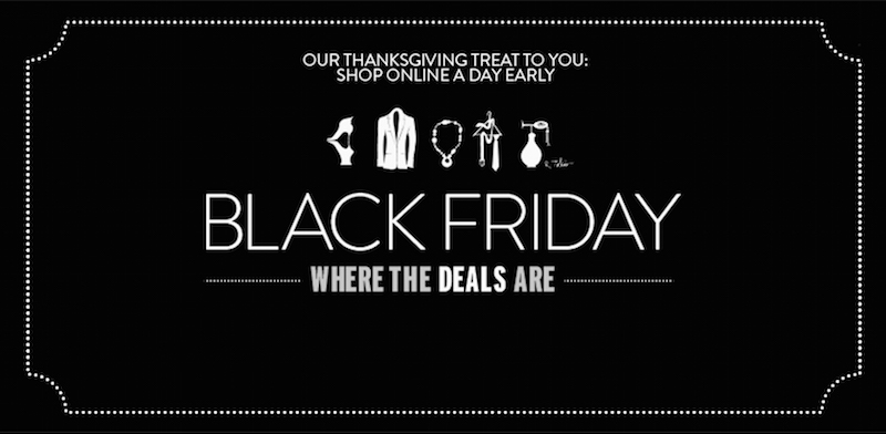 Thanksgiving and Black Friday Deals at NORDSTROM