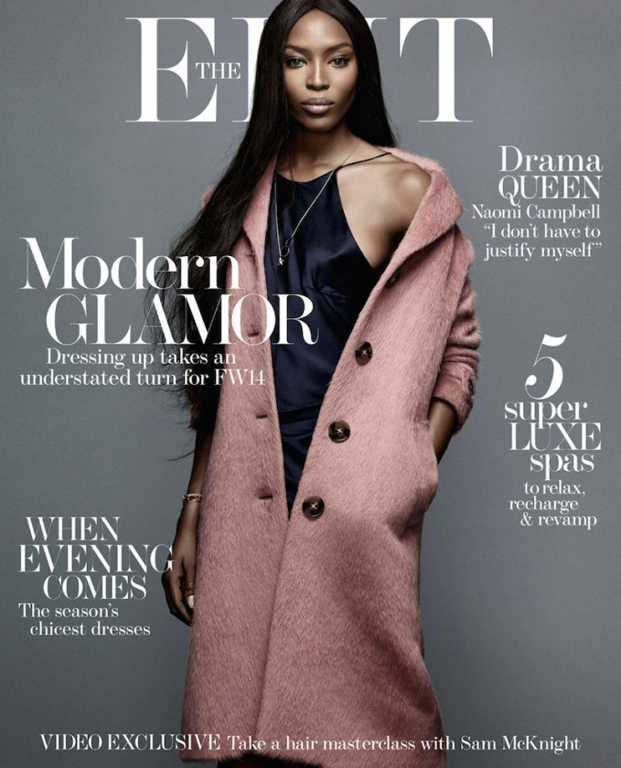 The Face: Naomi Campbell for The EDIT