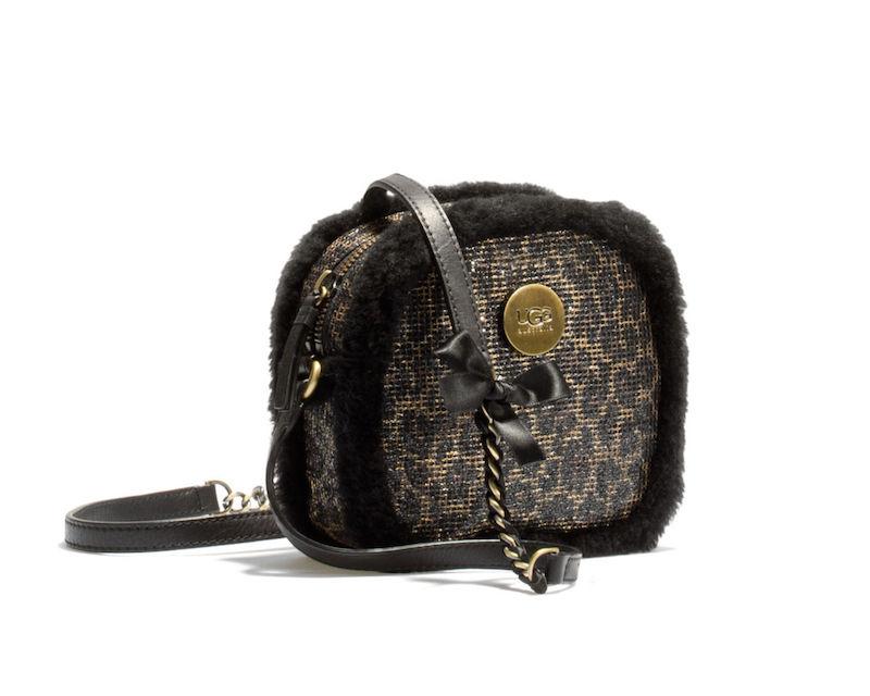 UGG Bailey Bow Glitter Box Zip