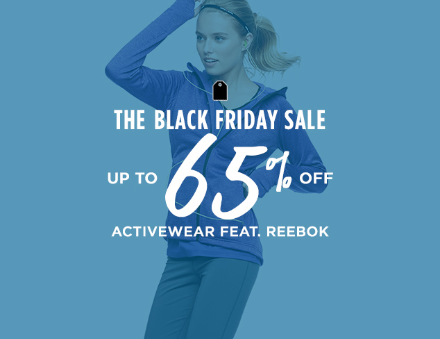Up to 65% Off: Activewear feat. Reebok at MYHABIT