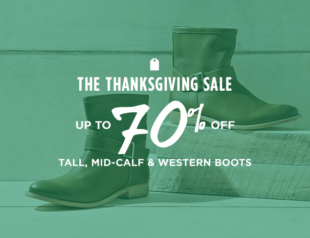 Up to 70% Off: Tall, Mid-Calf & Western Boots at MYHABIT